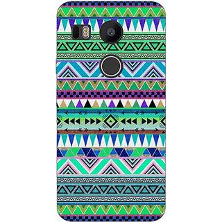 1 Crazy Designer Aztec Girly Tribal Back Cover Case For LG Google Nexus 5X C1010064
