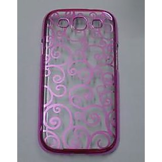 Designer Transparent Silicon Back cover case pouch For Samsung Galaxy S3 i9300