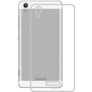 Snaptic Transparent Soft Back Cover For Lava Pixel V1