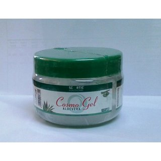 Cosmo Aloe Vera Gel - For Face & Body - Anti UV & Anti Ageing - 125 Gms