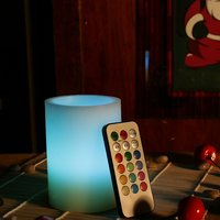 Color Changing Led Candle With Multi-function Remote 12 Colors (Pack Of 1)