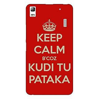 1 Crazy Designer PATAKA Quote Back Cover Case For Lenovo K3 Note C1121468