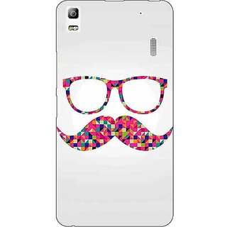 1 Crazy Designer Mustache Back Cover Case For Lenovo K3 Note C1120751
