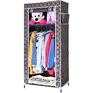 Carbon Steel Collapsible Wardrobe Finish Color   Black  Storage   Display