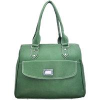 Lady Queen Green Casual Handbag
