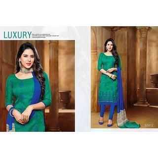 Cotton Jacquard Unstitched Dress Material