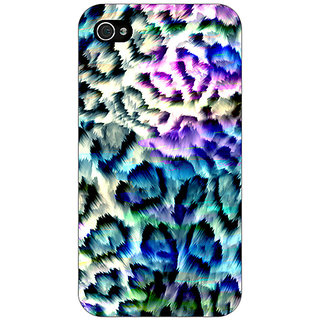 Absinthe Cheetah Leopard Print Back Cover Case For Apple iPhone 4