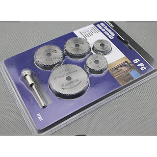 Wood Aluminm-6pc HSS Mini Circular-Saw Blades Cutting Disc Dremel Accessories