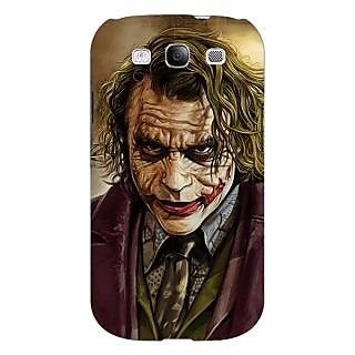 Absinthe Villain Joker Back Cover Case For Samsung Galaxy S3