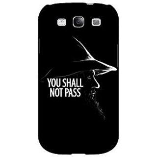 Absinthe LOTR Hobbit Gandalf Back Cover Case For Samsung Galaxy S3
