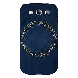 Absinthe LOTR Hobbit  Back Cover Case For Samsung Galaxy S3