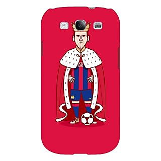 Absinthe Barcelona Messi Back Cover Case For Samsung Galaxy S3
