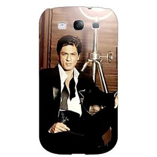 Absinthe Bollywood Superstar Shahrukh Khan Back Cover Case For Samsung Galaxy S3