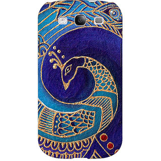 Absinthe Paisley Beautiful Peacock Back Cover Case For Samsung Galaxy S3