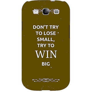 Absinthe SUITS Quotes Back Cover Case For Samsung Galaxy S3