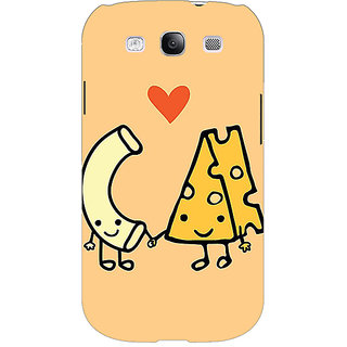 Absinthe Cheese Donut Love Back Cover Case For Samsung Galaxy S3