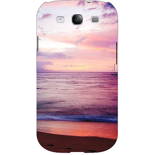 Absinthe Sunset At the Beach Back Cover Case For Samsung Galaxy S3
