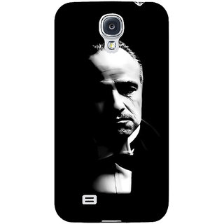 Absinthe The Godfather Back Cover Case For Samsung Galaxy S4 I9500