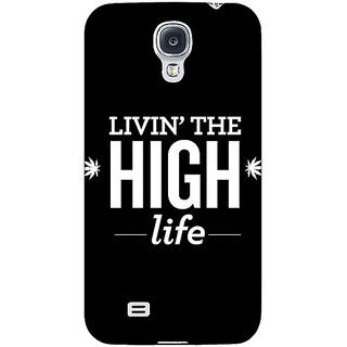 Absinthe Weed Quotes Back Cover Case For Samsung Galaxy S4 I9500