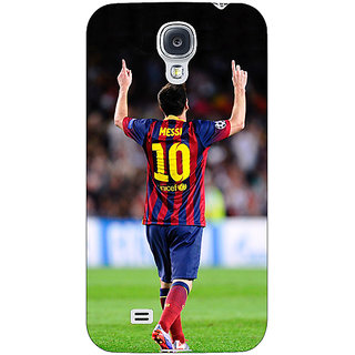 Absinthe Barcelona Messi Back Cover Case For Samsung Galaxy S4 I9500