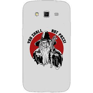 Absinthe LOTR Hobbit Gandalf Back Cover Case For Samsung Galaxy Grand 2