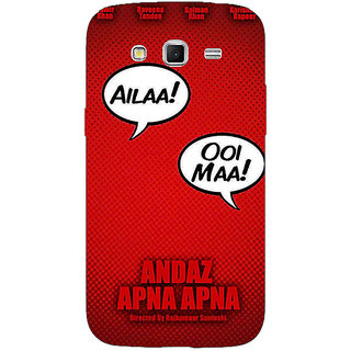 Absinthe Bollywood Superstar Andaz Apna Apna Back Cover Case For Samsung Galaxy Grand 2