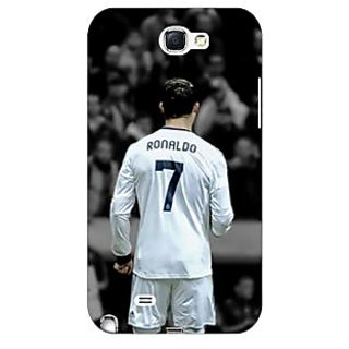 Absinthe Cristiano Ronaldo Real Madrid Back Cover Case For Samsung Galaxy Note 2 N7100