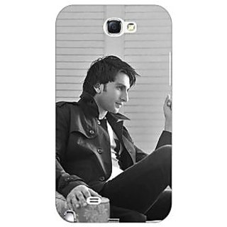 Absinthe Bollywood Superstar Ranveer Singh Back Cover Case For Samsung Galaxy Note 2 N7100