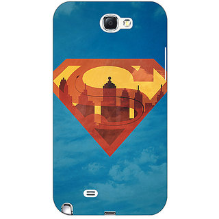 Absinthe Superheroes Superman Back Cover Case For Samsung Galaxy Note 2 N7100