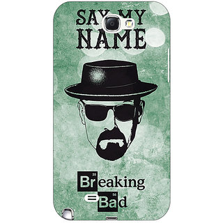 Absinthe Breaking Bad Heisenberg Back Cover Case For Samsung Galaxy Note 2 N7100