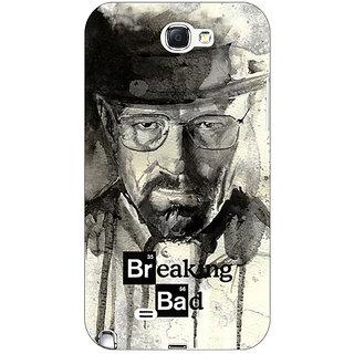 Absinthe Breaking Bad Heisenberg Back Cover Case For Samsung Galaxy Note 2 N7100