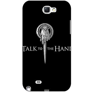 Absinthe Game Of Thrones GOT Hand Of The King Back Cover Case For Samsung Galaxy Note 2 N7100