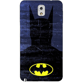 Absinthe Superheroes Batman Dark knight Back Cover Case For Samsung Galaxy Note 3 N9000