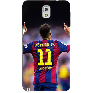 Absinthe Barcelona Neymar Back Cover Case For Samsung Galaxy Note 3 N9000