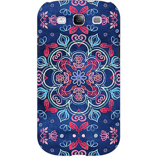 Absinthe Night Floral Pattern Back Cover Case For Samsung Galaxy Grand Duos I9082
