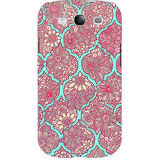 Absinthe Pink Morroccan Pattern Back Cover Case For Samsung Galaxy Grand Duos I9082