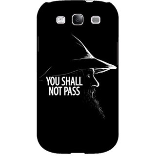 Absinthe LOTR Hobbit Gandalf Back Cover Case For Samsung Galaxy Grand Duos I9082