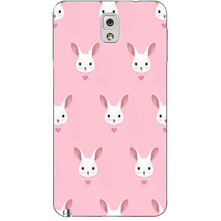 Absinthe Rabbit Back Cover Case For Samsung Galaxy Note 3 N9000
