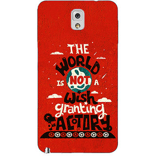 Absinthe TFIOS Wish Granting Factory  Back Cover Case For Samsung Galaxy Note 3 N9000