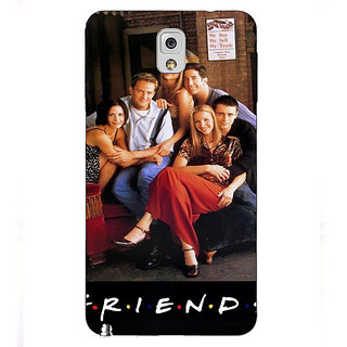 Absinthe TV Series FRIENDS Back Cover Case For Samsung Galaxy Note 3 N9000