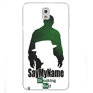 Absinthe Breaking Bad Heisenberg Back Cover Case For Samsung Galaxy Note 3 N9000