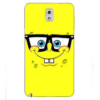 Absinthe Spongebob Back Cover Case For Samsung Galaxy Note 3 N9000