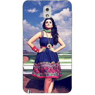 Absinthe Bollywood Superstar Parineeti Chopra Back Cover Case For Samsung Galaxy Note 3 N9000