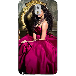 Absinthe Bollywood Superstar Deepika Padukone Back Cover Case For Samsung Galaxy Note 3 N9000
