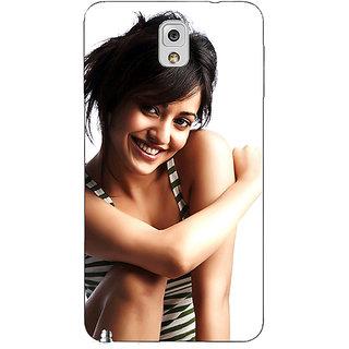 Absinthe Bollywood Superstar Neha Sharma Back Cover Case For Samsung Galaxy Note 3 N9000