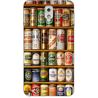 Absinthe Beer Cans Back Cover Case For Samsung Galaxy Note 3 N9000