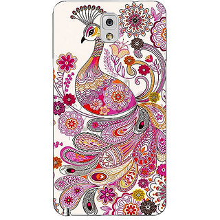 Absinthe Paisley Beautiful Peacock Back Cover Case For Samsung Galaxy Note 3 N9000