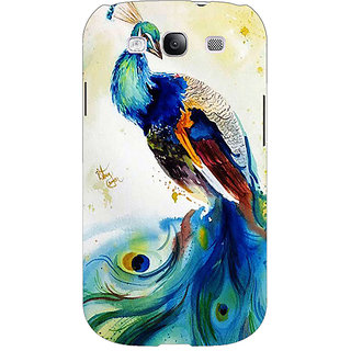 Absinthe Paisley Beautiful Peacock Back Cover Case For Samsung Galaxy Grand Duos I9082