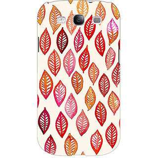 Absinthe Red Leaves Pattern Back Cover Case For Samsung Galaxy Grand Neo GT-I9060