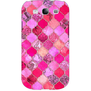 Absinthe Pink Moroccan Tiles Pattern Back Cover Case For Samsung Galaxy Grand Neo GT-I9060